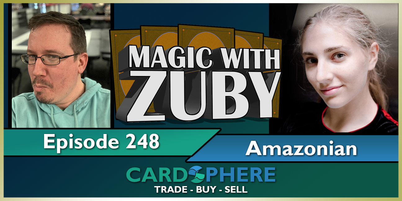 Magic With Zuby Episode 248 - Amy the Amazonian