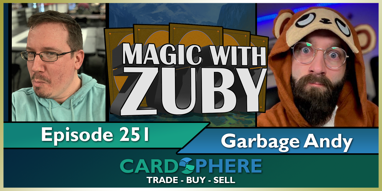 Magic With Zuby Episode 251 - Garbage Andy